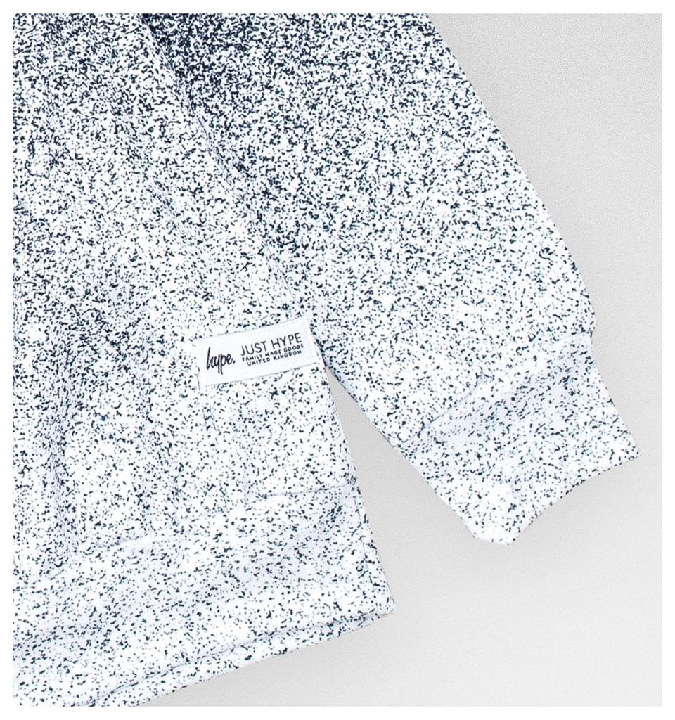 Speckle Fade Pullover Hoodie