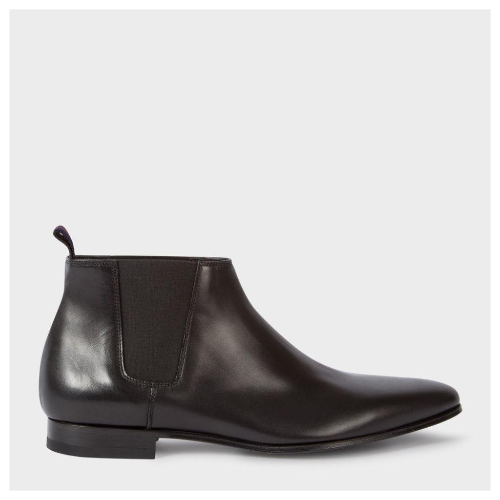 Men's Black Leather 'Marlowe' Chelsea Boots