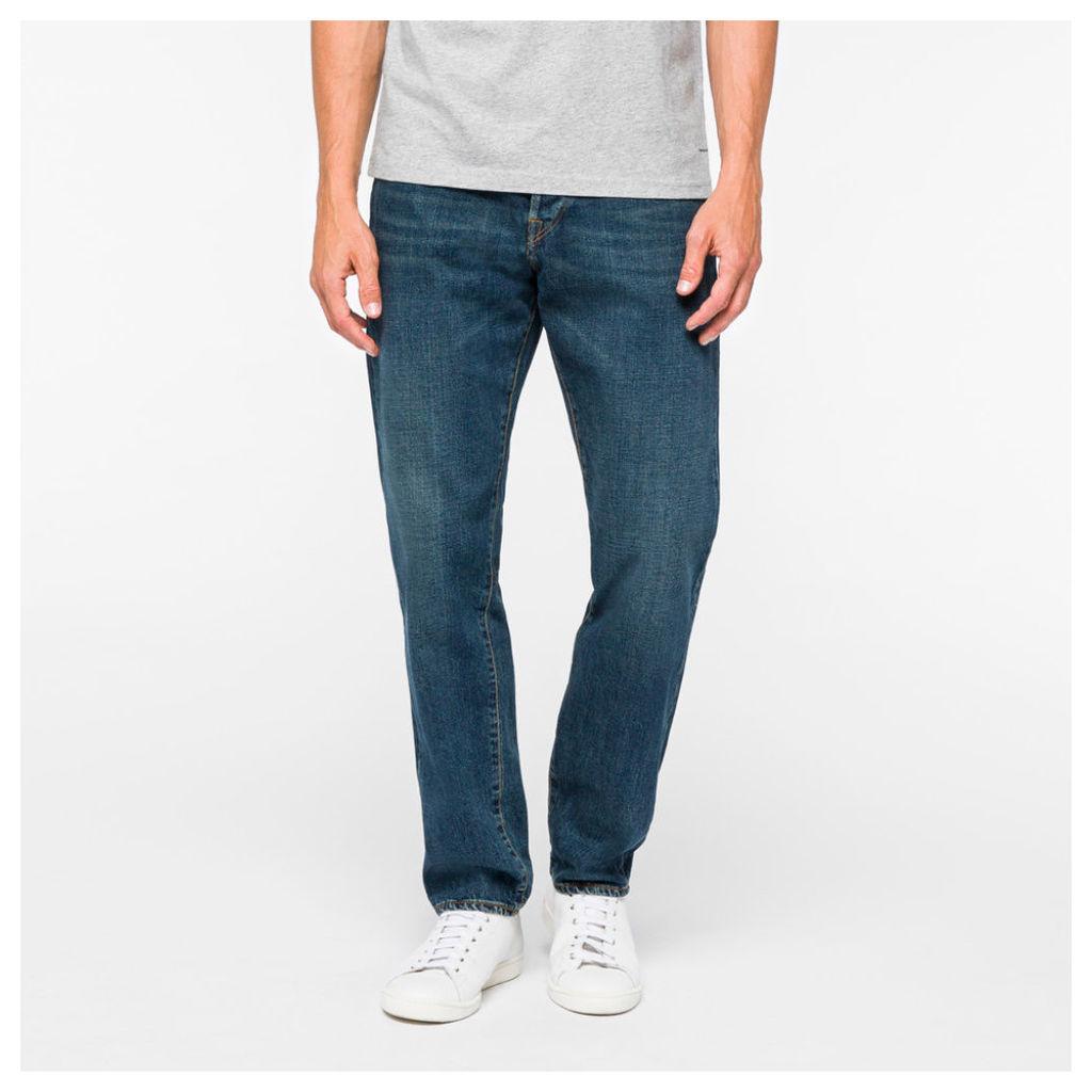 Men's Classic-Fit Dark-Wash Jeans