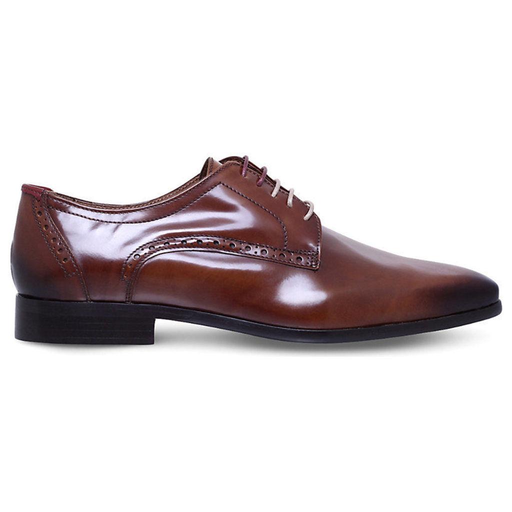 Kg Kurt Geiger Mensa Leather Shoes, Men's, EUR 42 / 8 UK MEN, Grey