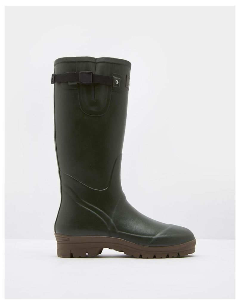 Green Neoprene Wellies  Size Adult Size 8 | Joules UK