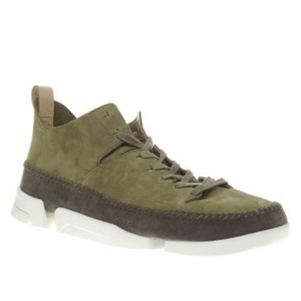 Clarks Originals Khaki Trigenic Flex Mens Boots