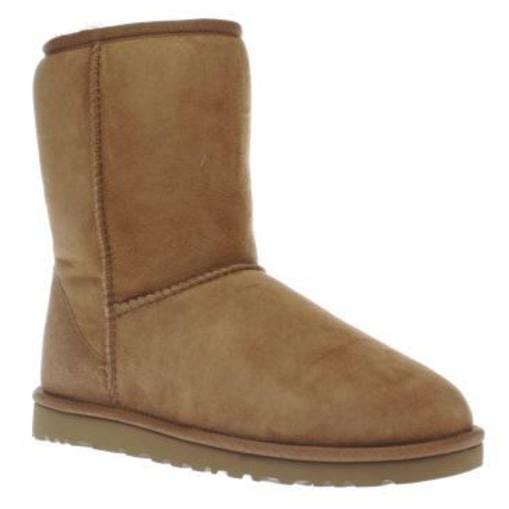 Ugg Australia Tan Classic Short Mens Boots