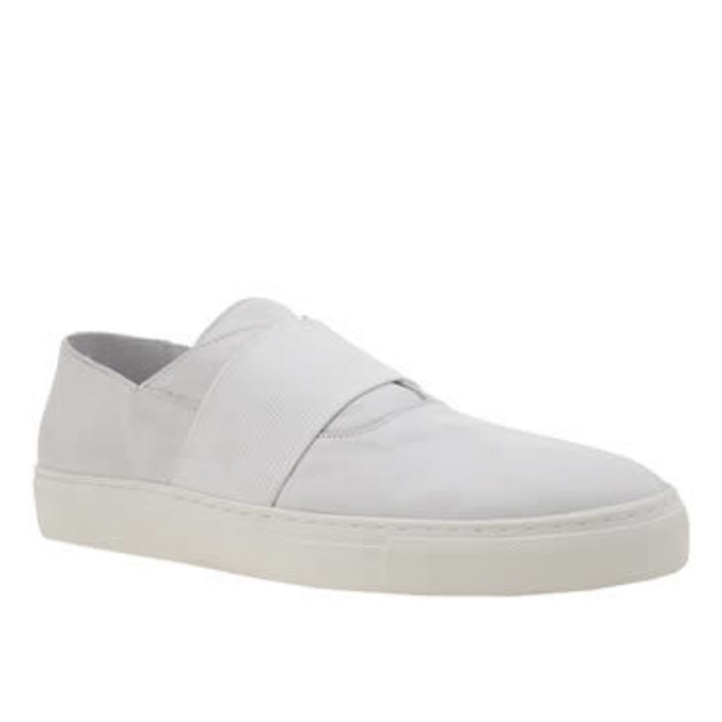 Momentum White Melbourne Slip Mens Shoes