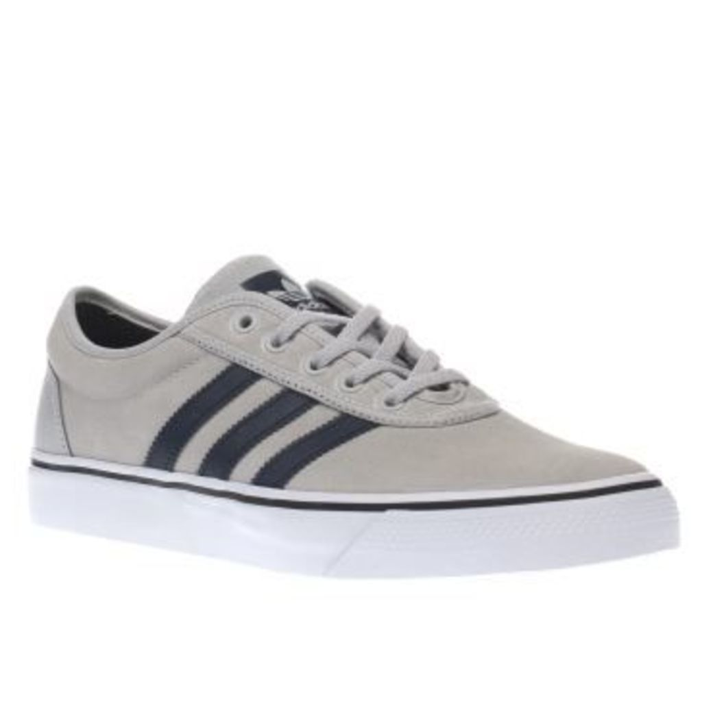 Adidas Light Grey Adiease Mens Trainers