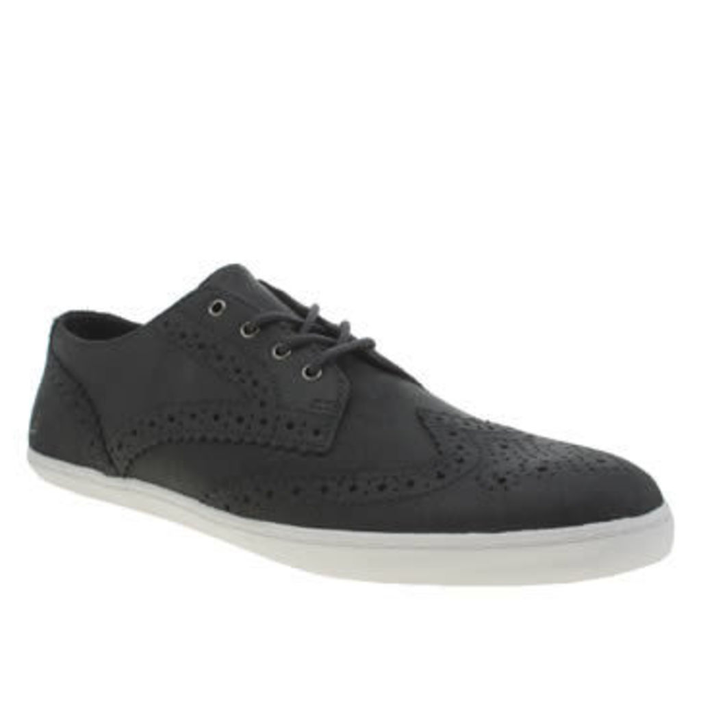 Fred Perry Navy Ealing Leather Mens Trainers