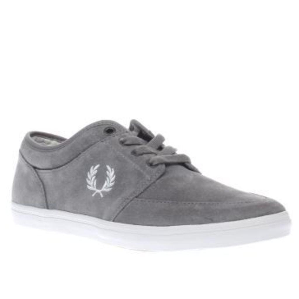 Fred Perry Grey Stratford Mens Trainers