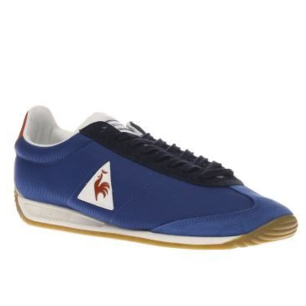 Le Coq Sportif Blue Quartz Gum Mens Trainers