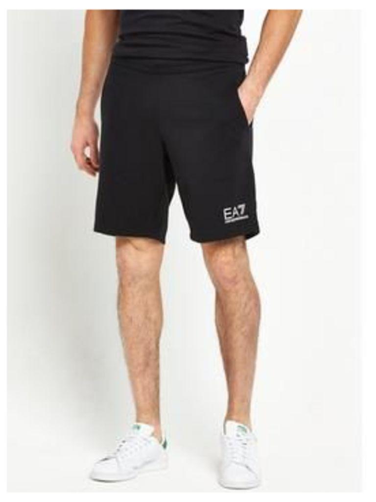 Emporio Armani Ea7 Small Logo Sweat Shorts