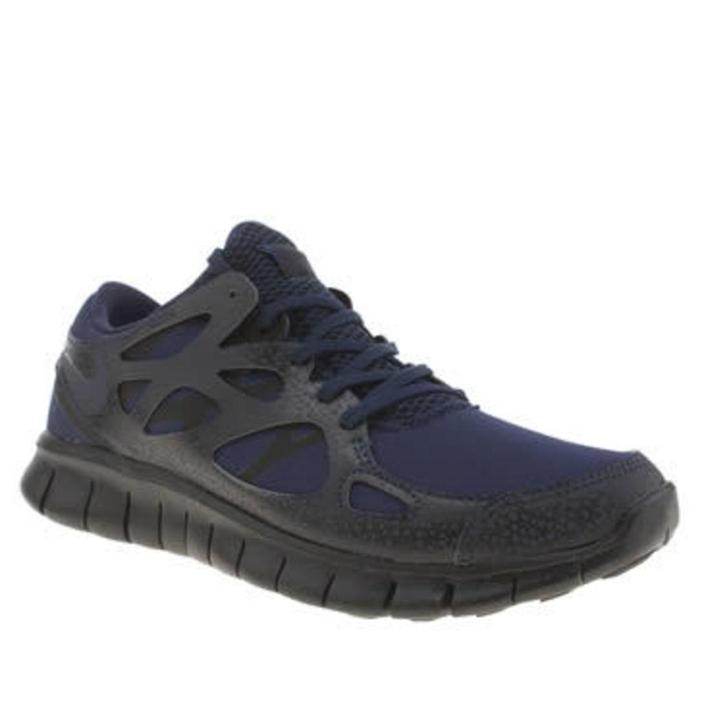 Nike Navy & Black Free Run 2 Mens Trainers