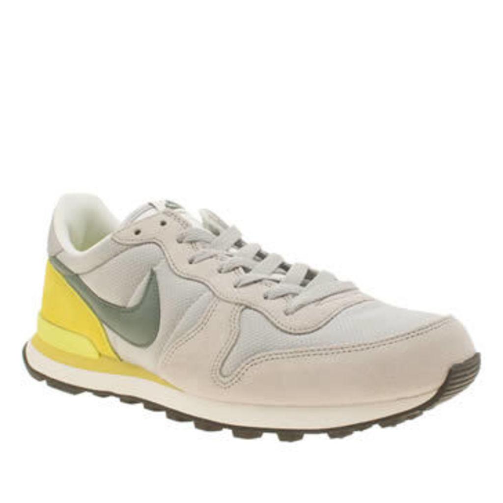 Nike Light Grey Internationalist Mens Trainers