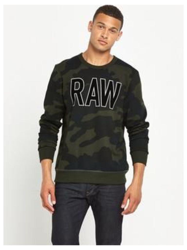 G-Star Raw Sicha Crew Sweatshirt