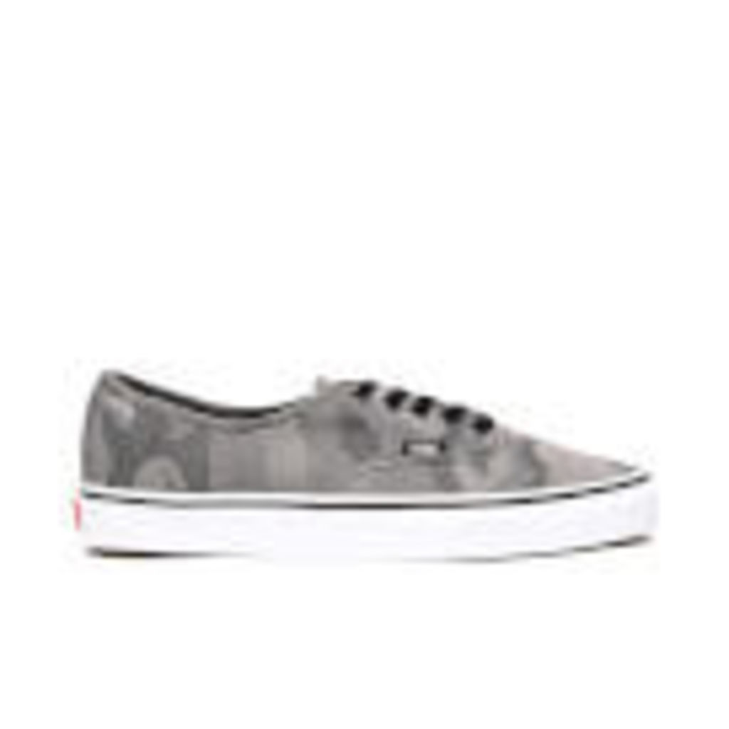 Vans Men's Authentic Camo Trainers - Black/True White