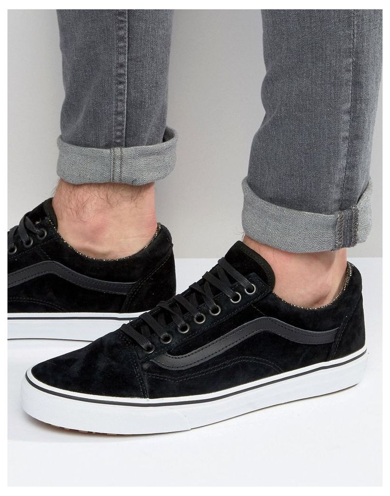 Vans Old Skool MTE Suede Trainers In Black V00ZDKJTF - Black