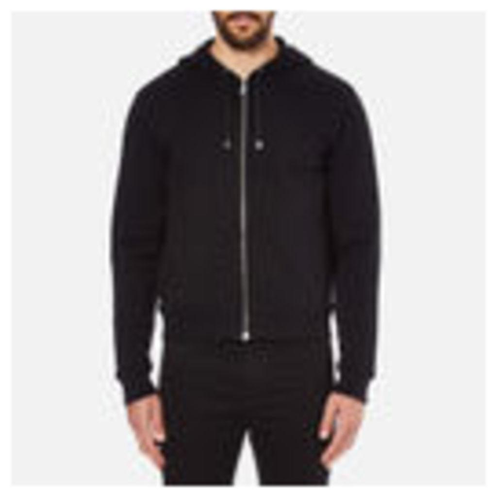 Versus Versace Men's Large Reverse Logo Hoody - Black - L
