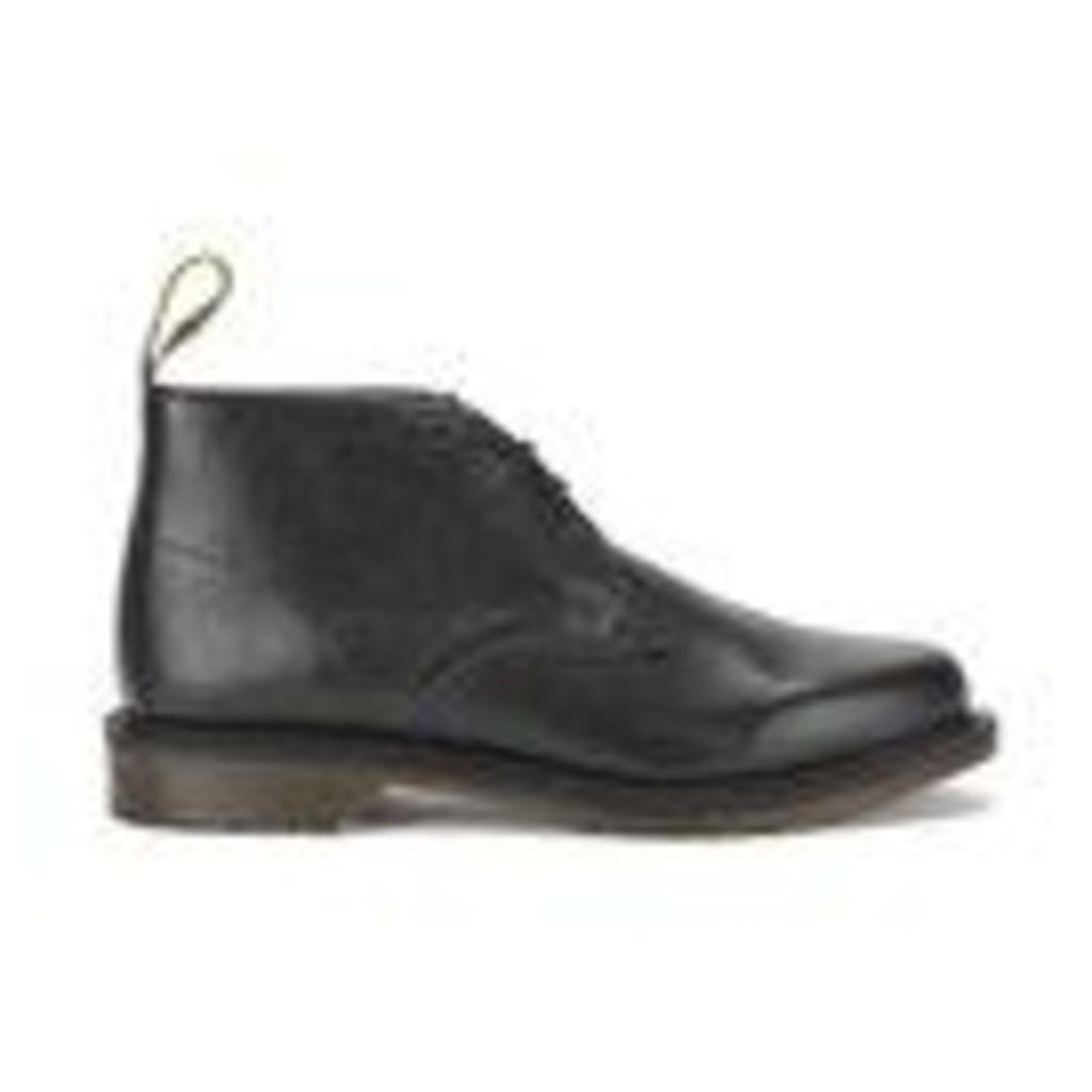 Dr. Martens Men's Oscar Sawyer New Nova Leather Desert Boots - Black - UK 8