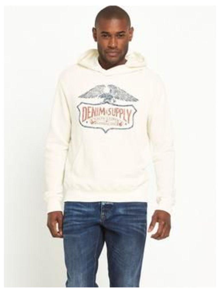 Denim & Supply - Ralph Lauren Wing Logo Crew Neck Sweatshirt