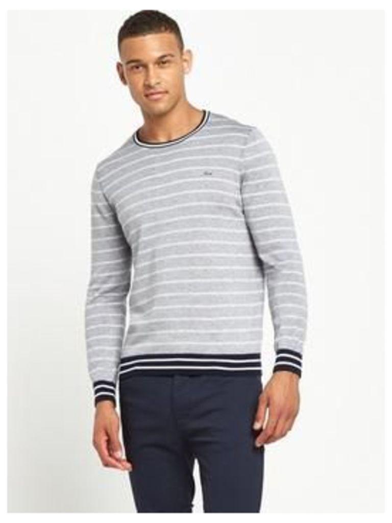 Lacoste Sportswear Striped Jumper