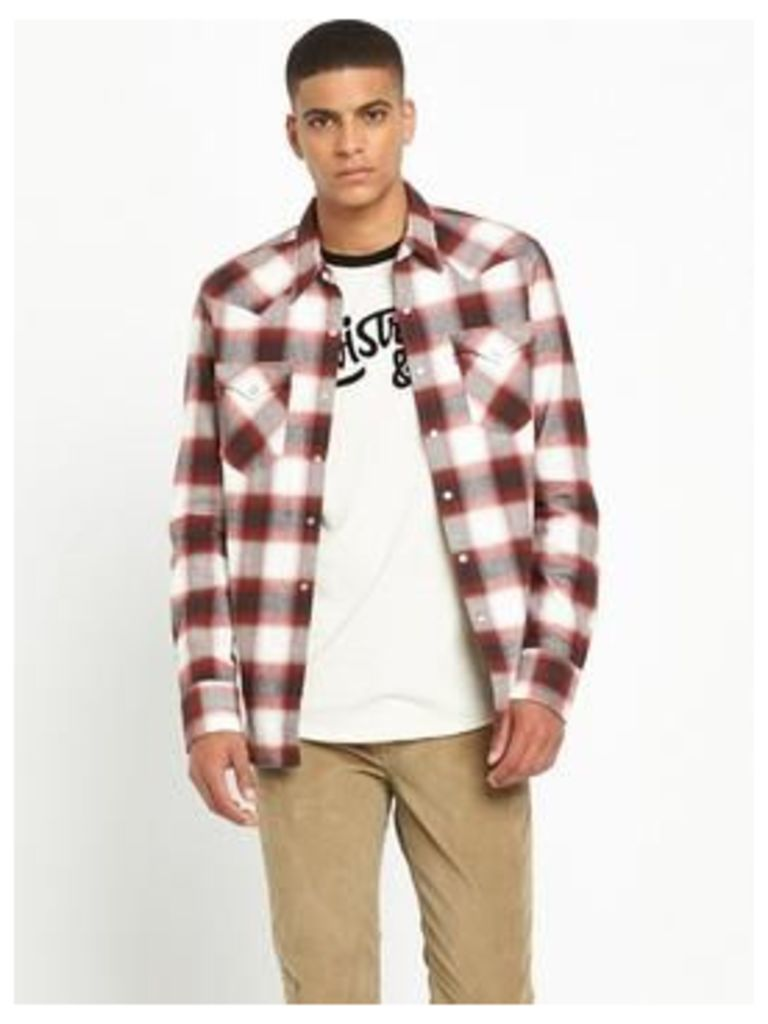 Levi'S Sawtooth Western Checked Shirt