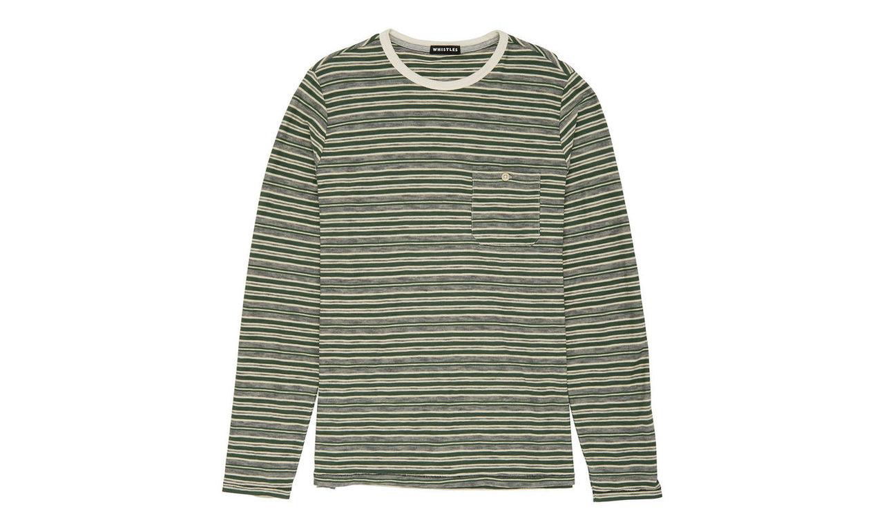 Variated Stripe Top