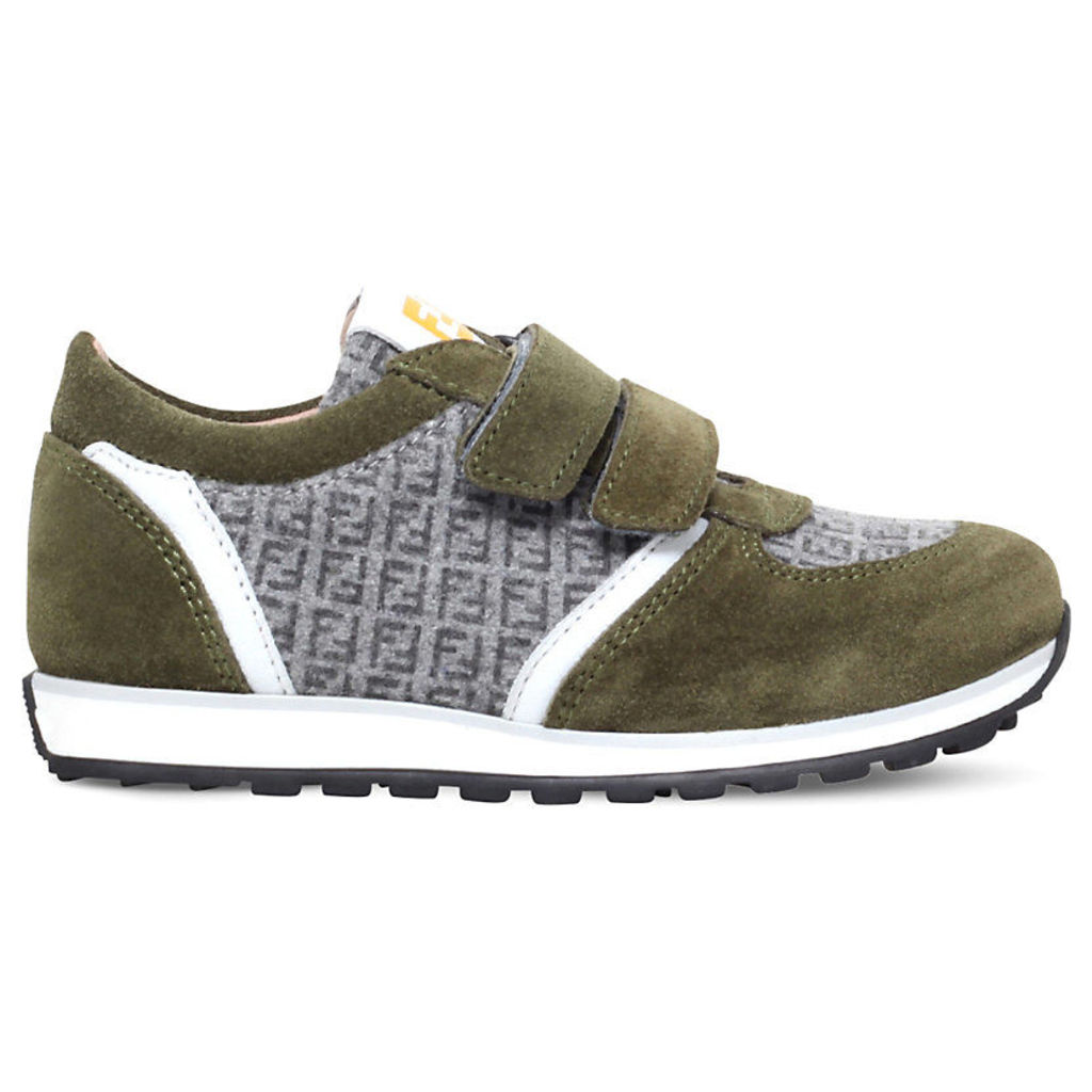 Mimosa logo suede trainers 9-11 years, Men's, Size: EUR 39 /5.5 UK Adult, Green
