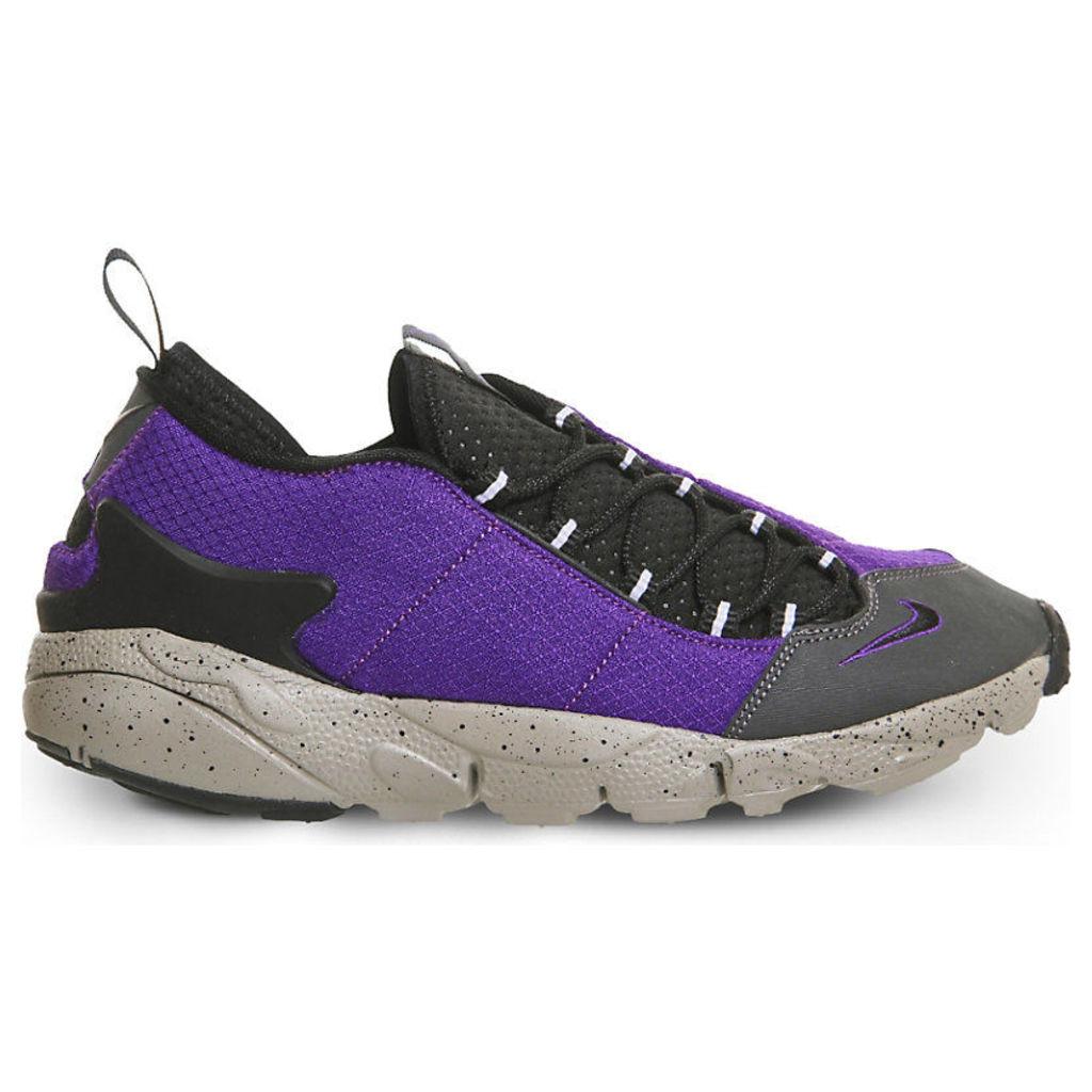 Air Footscape low-top esh trainers, Men's, Size: 10, Court Purple Black