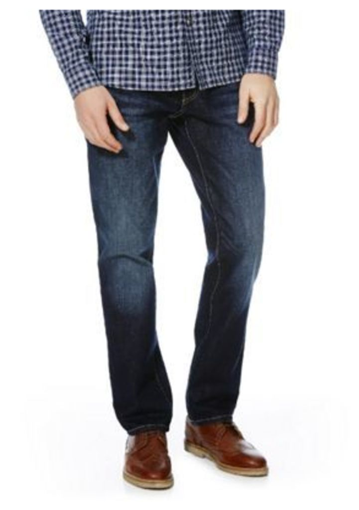 F&F Straight Leg Jeans, Men's, Size: 32 Waist 34 Leg
