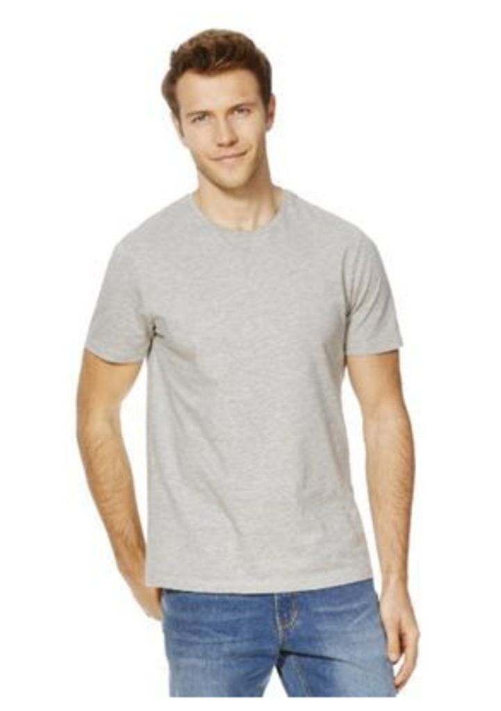F&F Marl Crew Neck T-Shirt, Men's, Size: Large