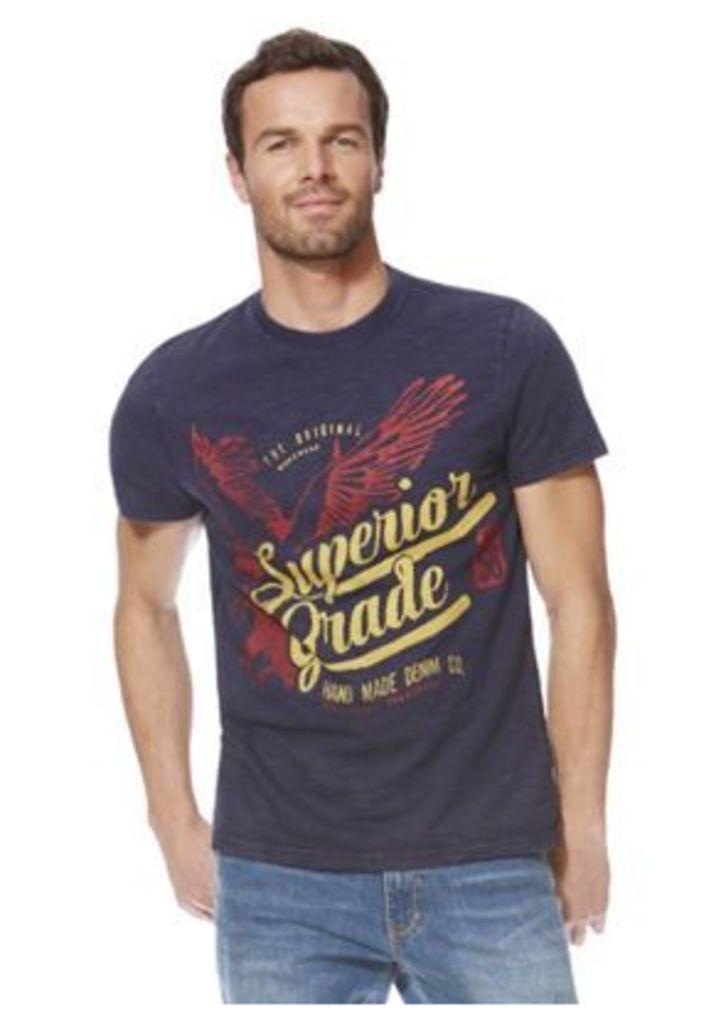F&F Vintage Style Graphic T-Shirt, Men's, Size: Large