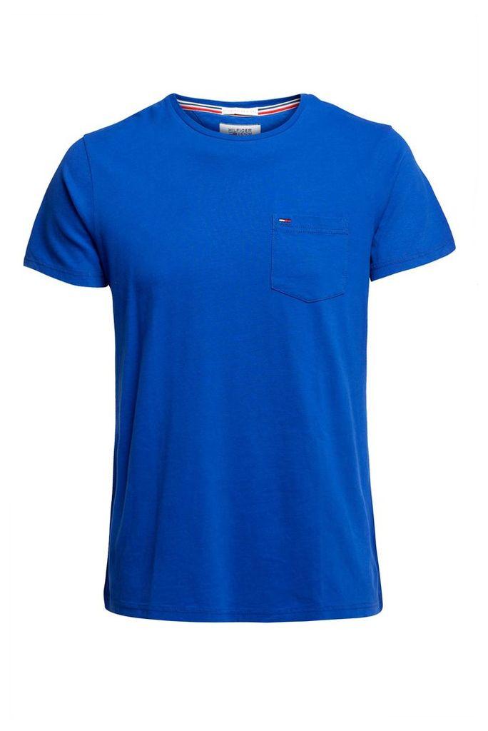 Men's Tommy Hilfiger THDM Basic Pocket T-shirt, Royal Blue
