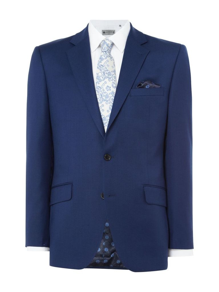 Men's Turner & Sanderson Forthold Textured Suit Jacket, Blue