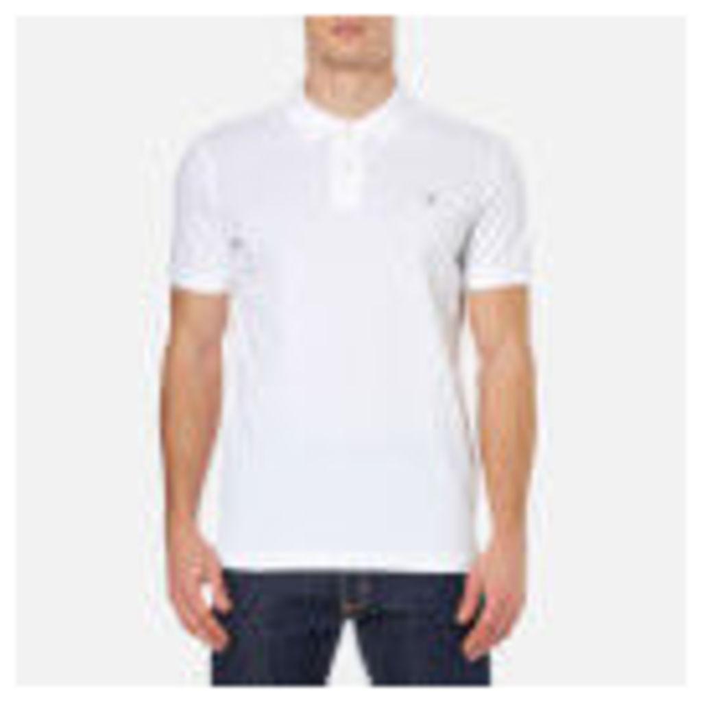 GANT Rugger Men's Original Pique Polo Shirt - White - M
