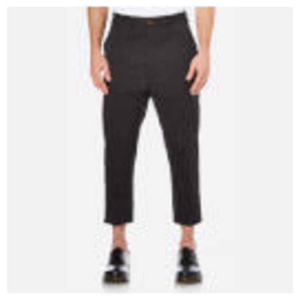 Vivienne Westwood MAN Men's James Bond Cropped Trousers - Black - EU 52