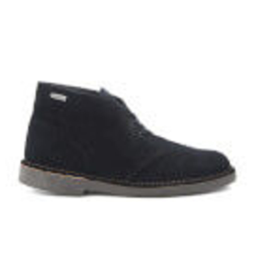 Clarks Originals Men's GORE-TEX Desert Boots - Black Suede - UK 7