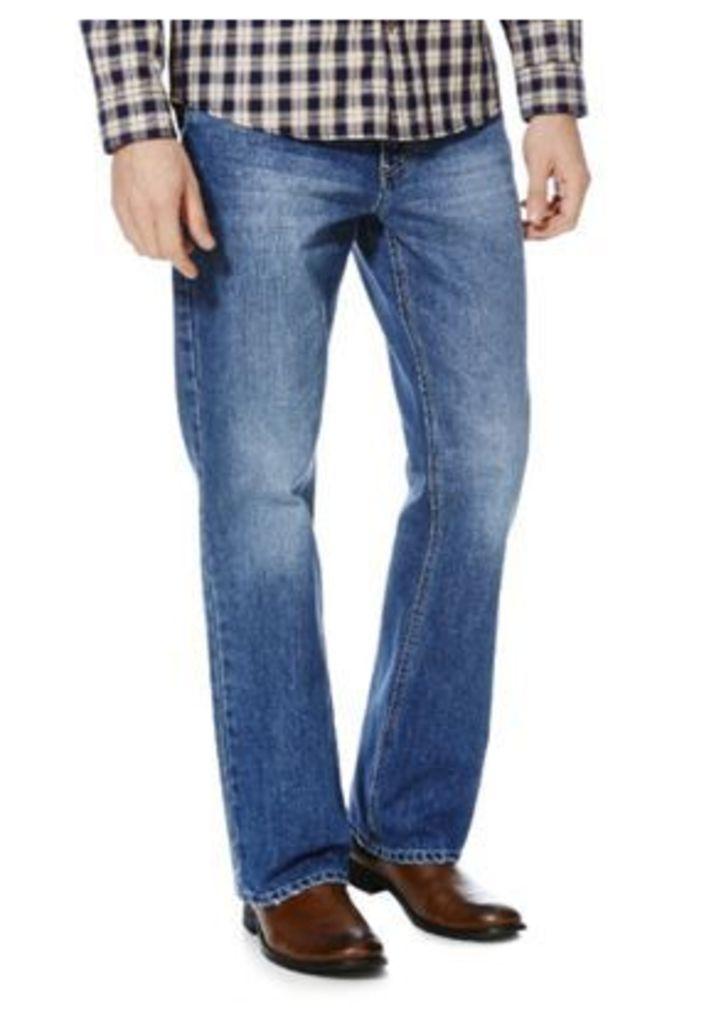 F&F Bootcut Jeans, Men's, Size: 40 Waist 30 Leg