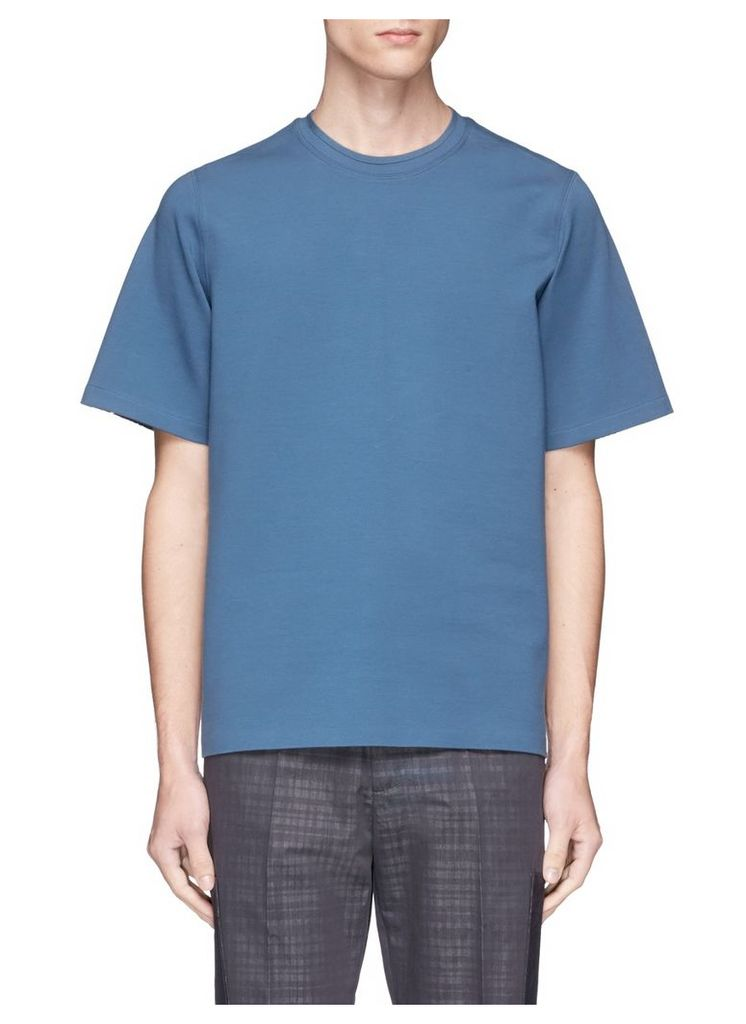 Mixed panel T-shirt