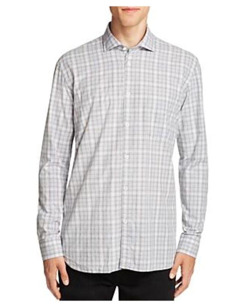 Billy Reid John T Check Slim Fit Button-Down Shirt