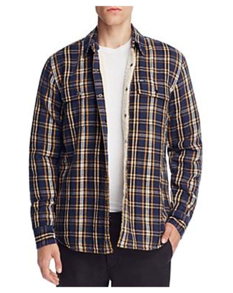 Obey Liam Plaid Shirt Jacket