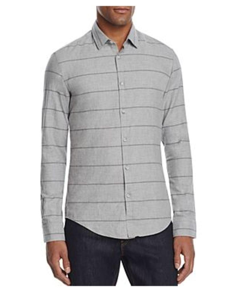 Boss Green Bambra Stripe Slim Fit Button-Down Shirt