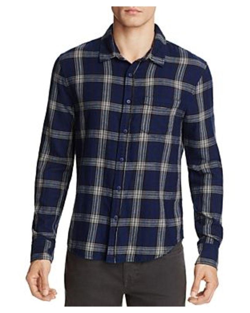 Joe's Jeans Plaid Flannel Slim Fit Button-Down Shirt