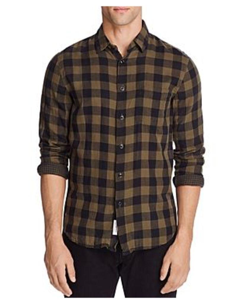 rag & bone Beach Check Classic Fit Button-Down Shirt