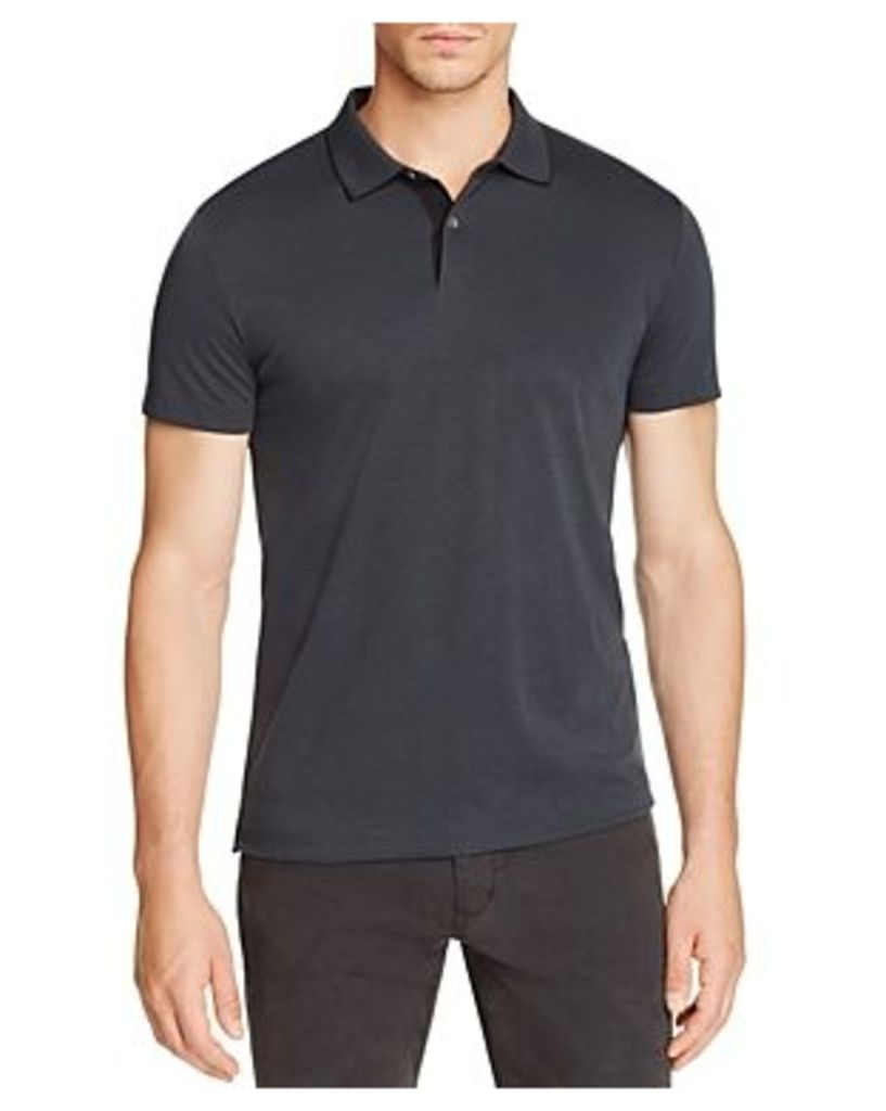 Theory Sandhurst Current Pique Relaxed Fit Polo Shirt