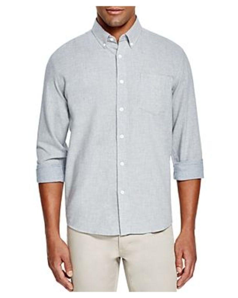 Saturdays Nyc Crosby Dot Regular Fit Button-Down Shirt