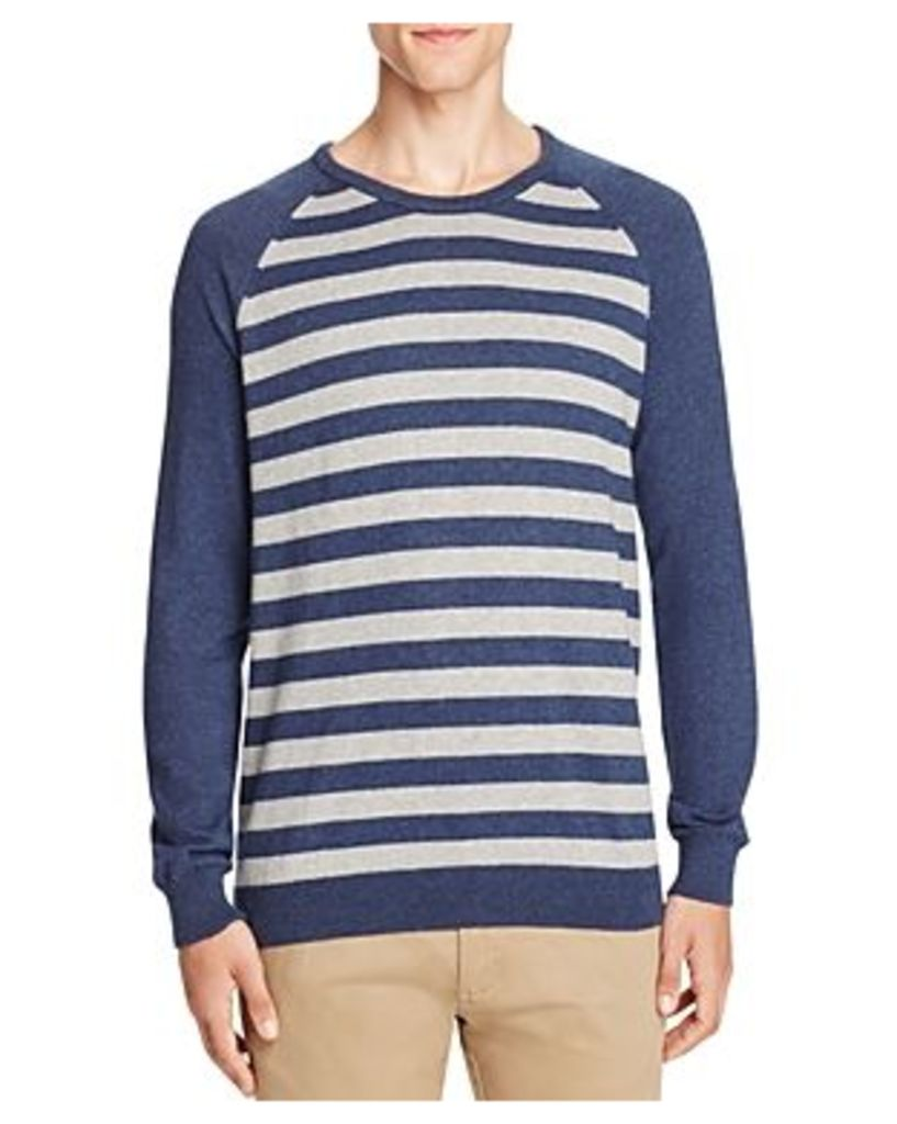 Jachs Ny Striped Color Block Sweater