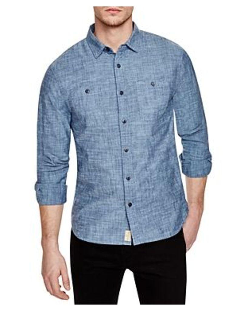 Jachs Ny Chambray Regular Fit Button-Down Shirt