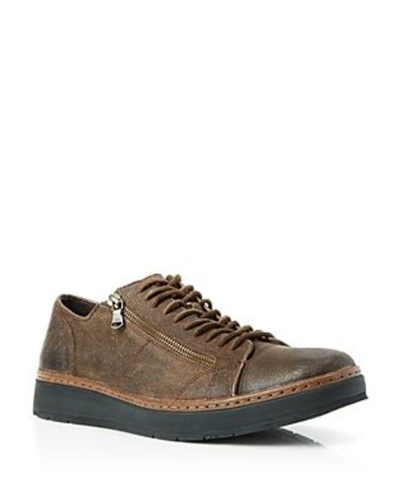 John Varvatos Barrett Creeper Zip Sneakers