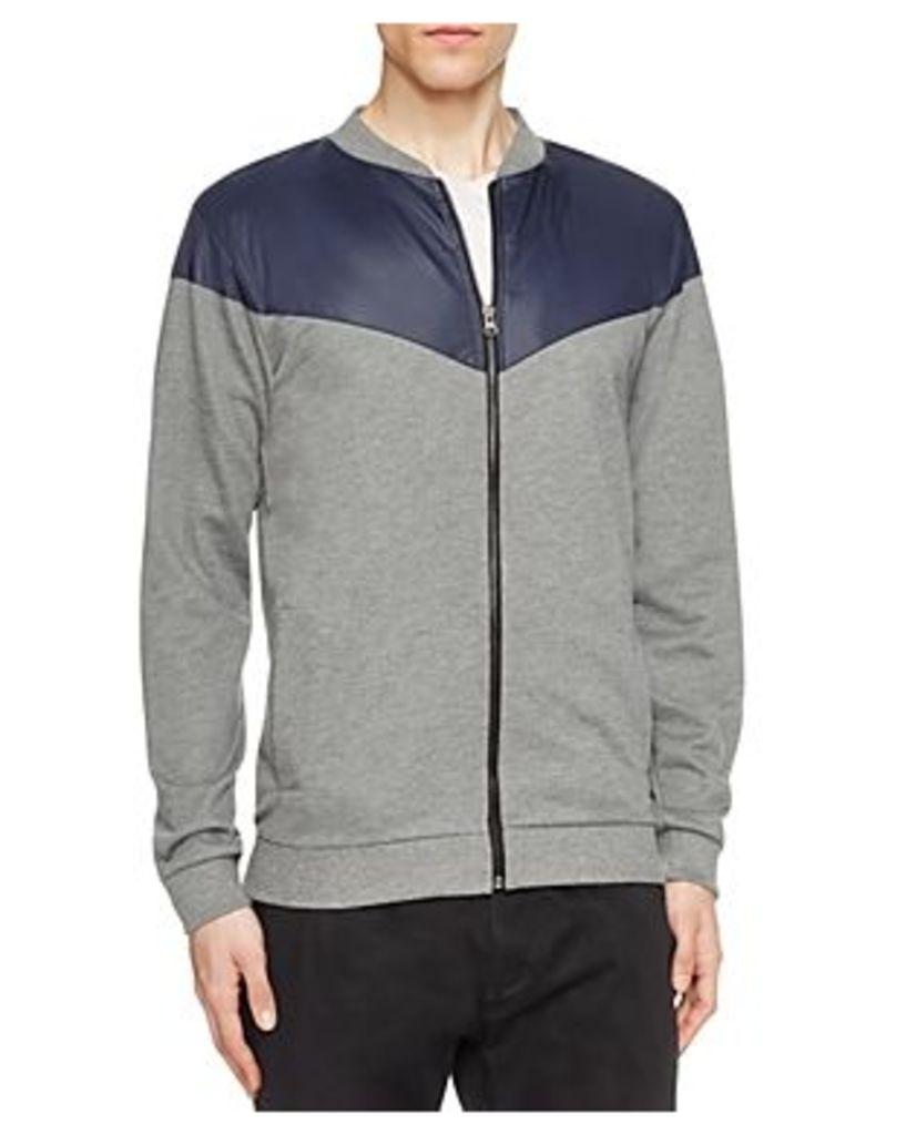 Sovereign Code Holt Color Block Zip Sweatshirt