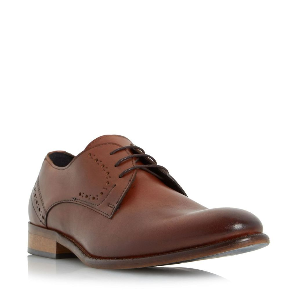Ramiro Punch Hole Detail Leather Derby Shoe