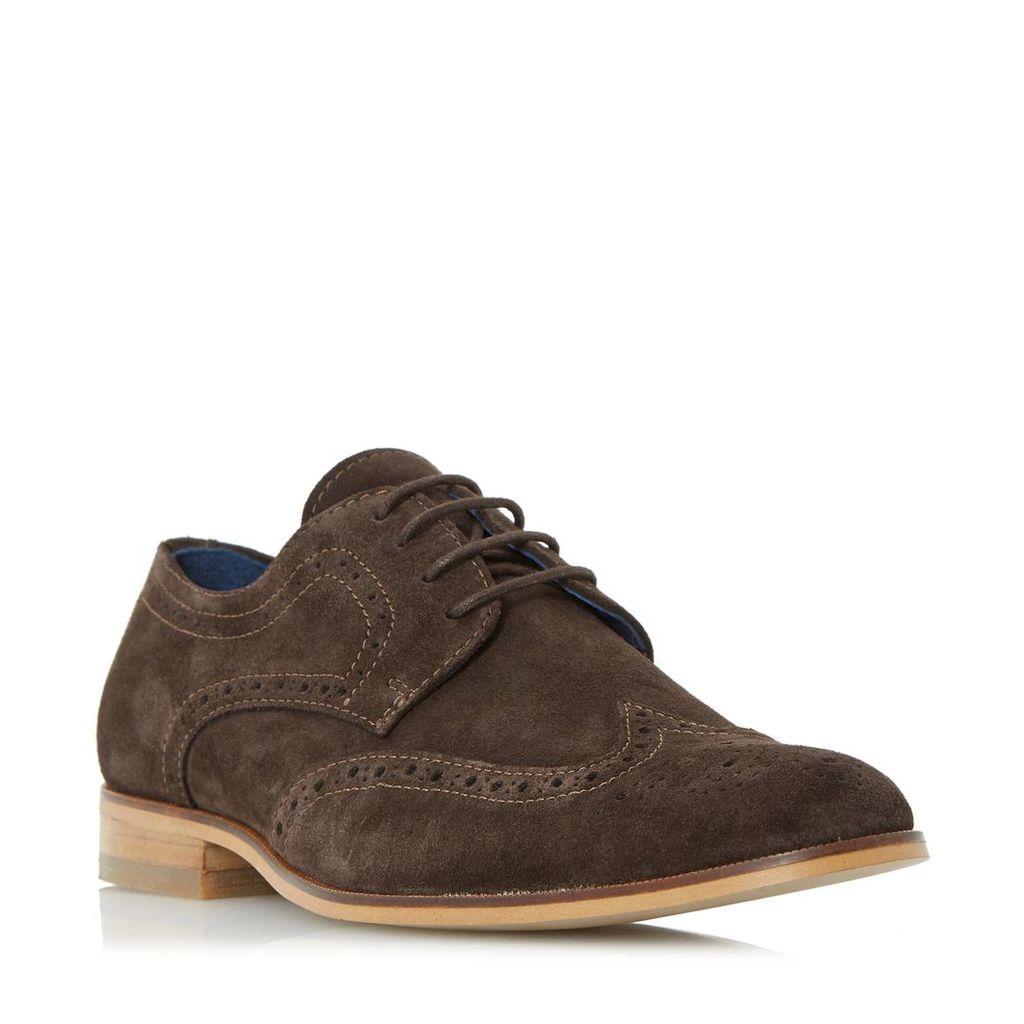 Rio Lace Up Derby Brogue Shoe