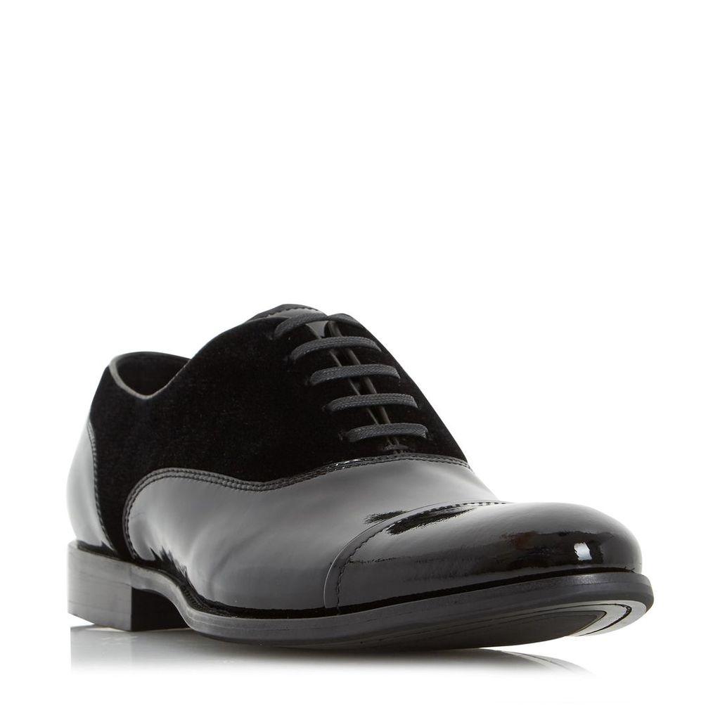 Reefer Velvet And Patent Oxford Shoe